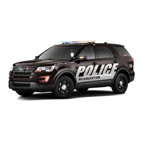 FORD INTERCEPTOR SUV LED ROCKER SAFETY LIGHTS