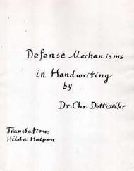 Defense Mechanisms in Handwriting