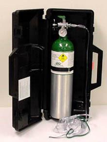 Oxygen Tank: Portable 424
