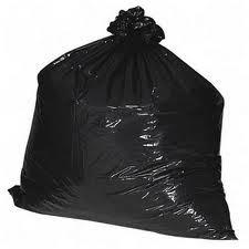 Drawstring Trash Bag, 33 gallon