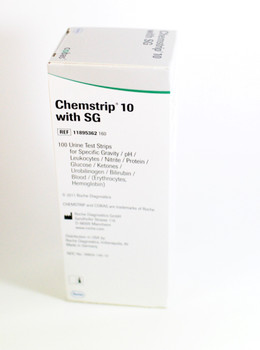 Chemstrip 10 Urine Strips