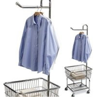 Chrome Steel Laundry Butler