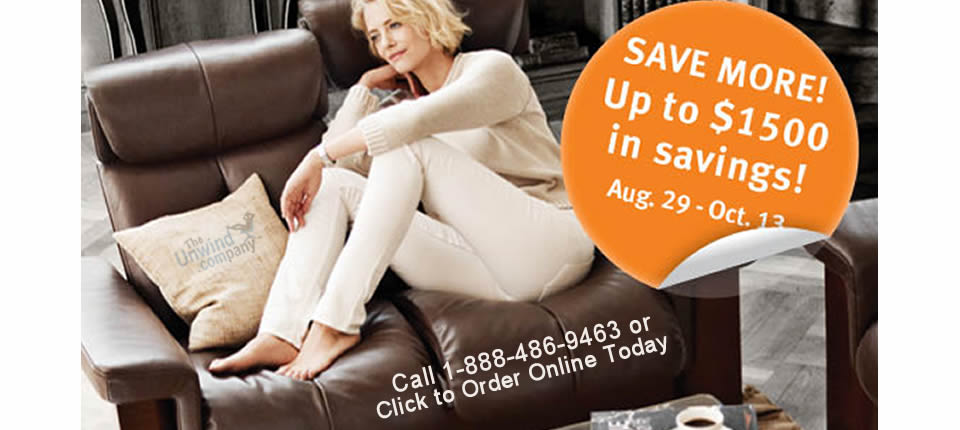 Ready to Save on Ekornes? The 2014 Stressless Home Seating Promotion is Going on Now!