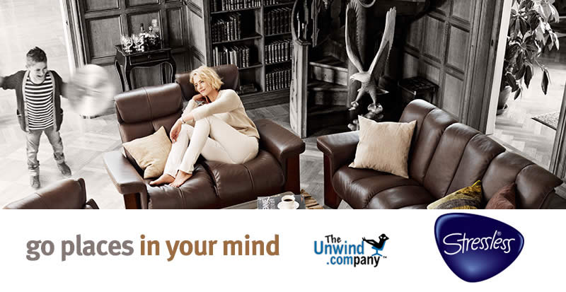 Go Places in Your Mind with Stressless and Unwind