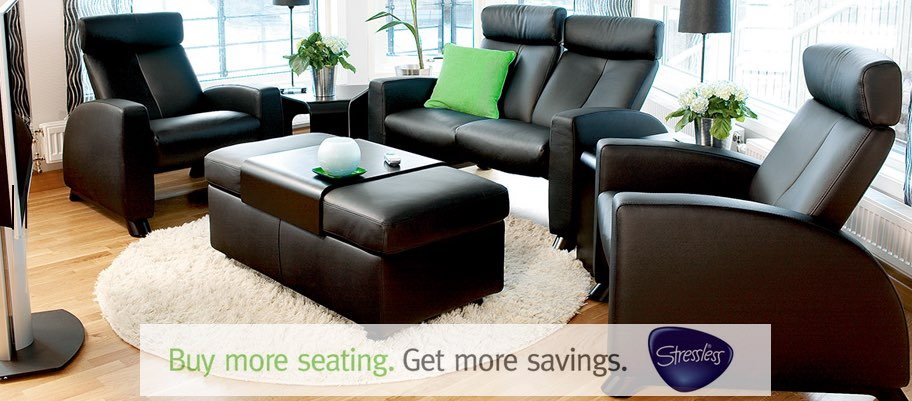 The Ekornes Stressless 2016 Home Seating Promotion is Going on Now at Unwind