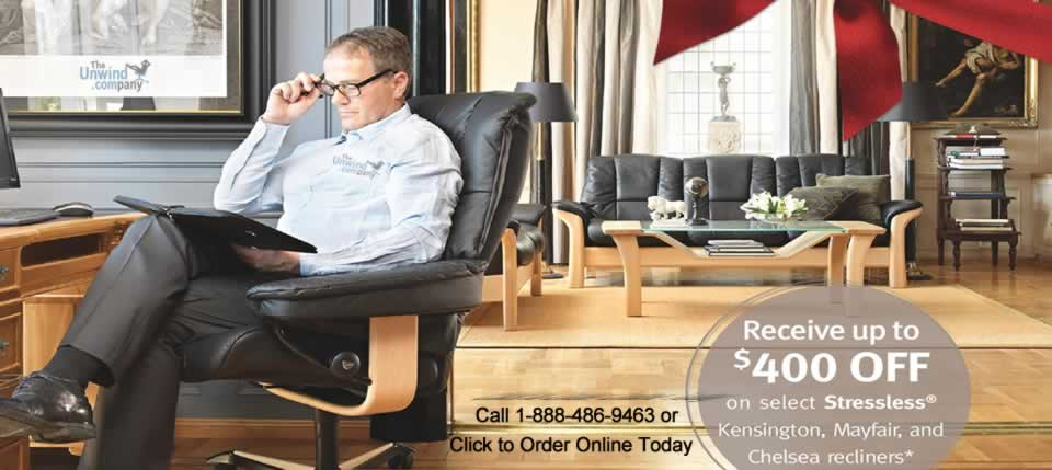 The Ekornes Stressless 2014 Charity Promotion starts November 26th and runs until January 19th 2015.