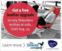 Save on a Sunrise Medium Recliner with a Free Leather Upgrade.
