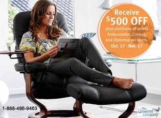 2014 Stressless Consul Promotion- Save Big