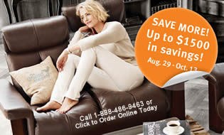 Ekornes Home Seating Promotion Image