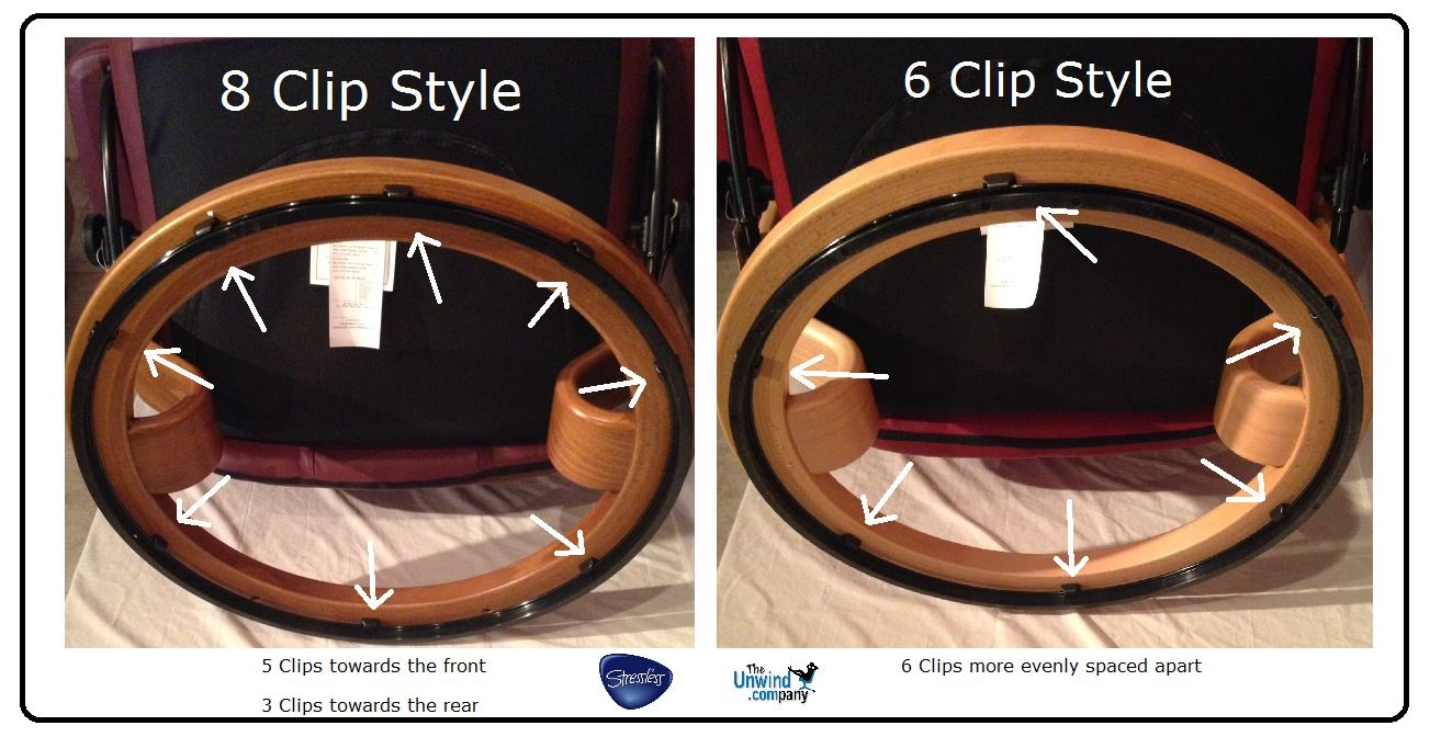 Different Sizes Of Stressless Elevator Rings Unwind Com