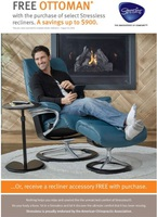Free Ottoman Plus Promotion at Unwind.