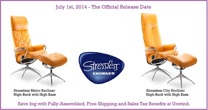 See Whats New In The Stressless Recliner Family Unwindcom