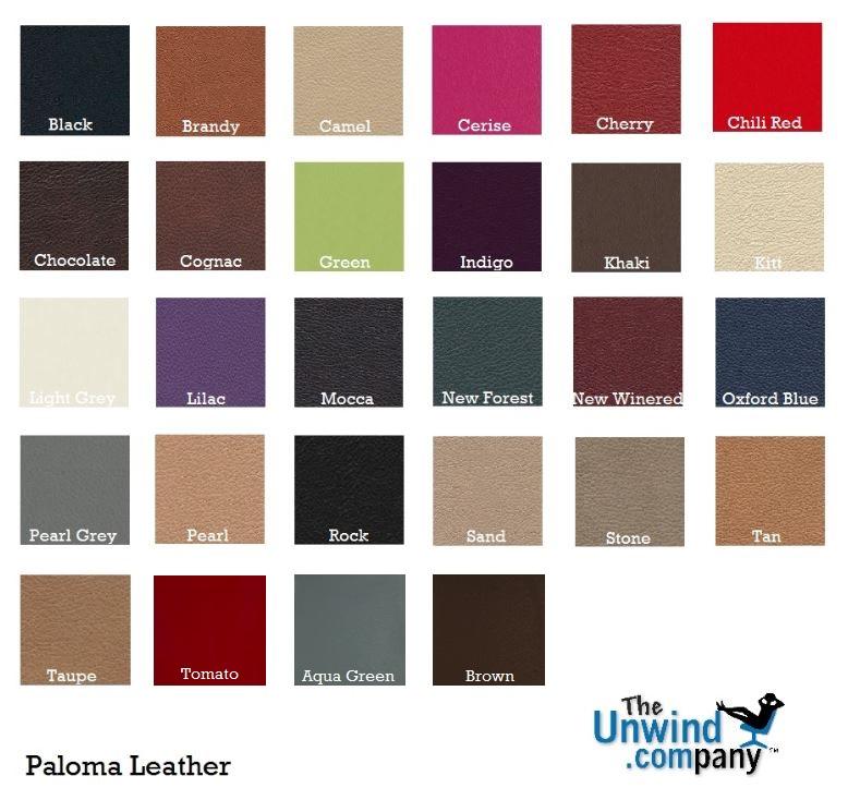 Ekornes Leather Colors