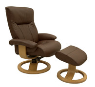 Scandic Recliner and Ottoman, Original and Comfortable