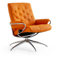 Stressless Metro Recliner in Low-Back with Clementine Paloma!