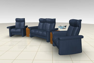 Stressless Home Theater seats pack a wallop in the comfort department.