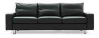E200 shown in Black Leather with Steel Feet.