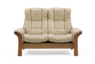 Sand Paloma Leather - Stressless Windsor Loveseat