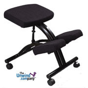 Jobri Standard Economical Kneeling Chair- Low Cost Intro to Kneeling Chair Benefits!