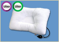 Air-Core Adjustable Pillow - Pump Up Your Pillow until its Perfect!