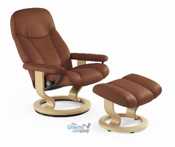 Stressless Consul Recliner- Fantastic Back and Neck Support at a great price. The Stressless Consul is one of the least expensive Stressless Recliners available
