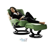 "Green means ""go"" when it comes to comfort and the Vision recliner"