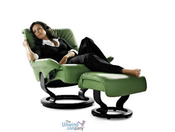 Dream recliner in use- Now this is relaxing