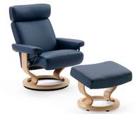 Stressless Orion Recliner (medium) by Ekornes - Great Support and Elegance- Stellar Comfort for Your Back and Body!