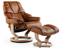 Lowest authorized prices on all Stressless Recliners, like the Reno, guaranteed!