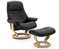 Stressless Sunrise Recliner (medium) by Ekornes -  Your Back &amp; Body will Enjoy Comfort Everyday the Sunrise Shines in Your Home