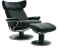 Ekornes Stressless Jazz Recliner Large is a modern, stylish back-saving beauty!