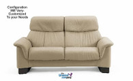 Ekornes Stressless Paradise Large- High-Back Sofa- 2 Seat, No Arms