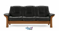 Ekornes Stressless Buckingham Low-Back- 3 Seat Sofa - The Perfect Seat