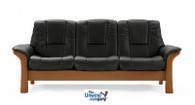 Ekornes Stressless Buckingham Low-Back- 3 Seat Sofa - The Perfect Seat