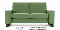 Stressless Space Loveseat - Paloma special prices keep it nice and casual.