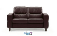 Ekornes Stressless Wave Low-Back Loveseat