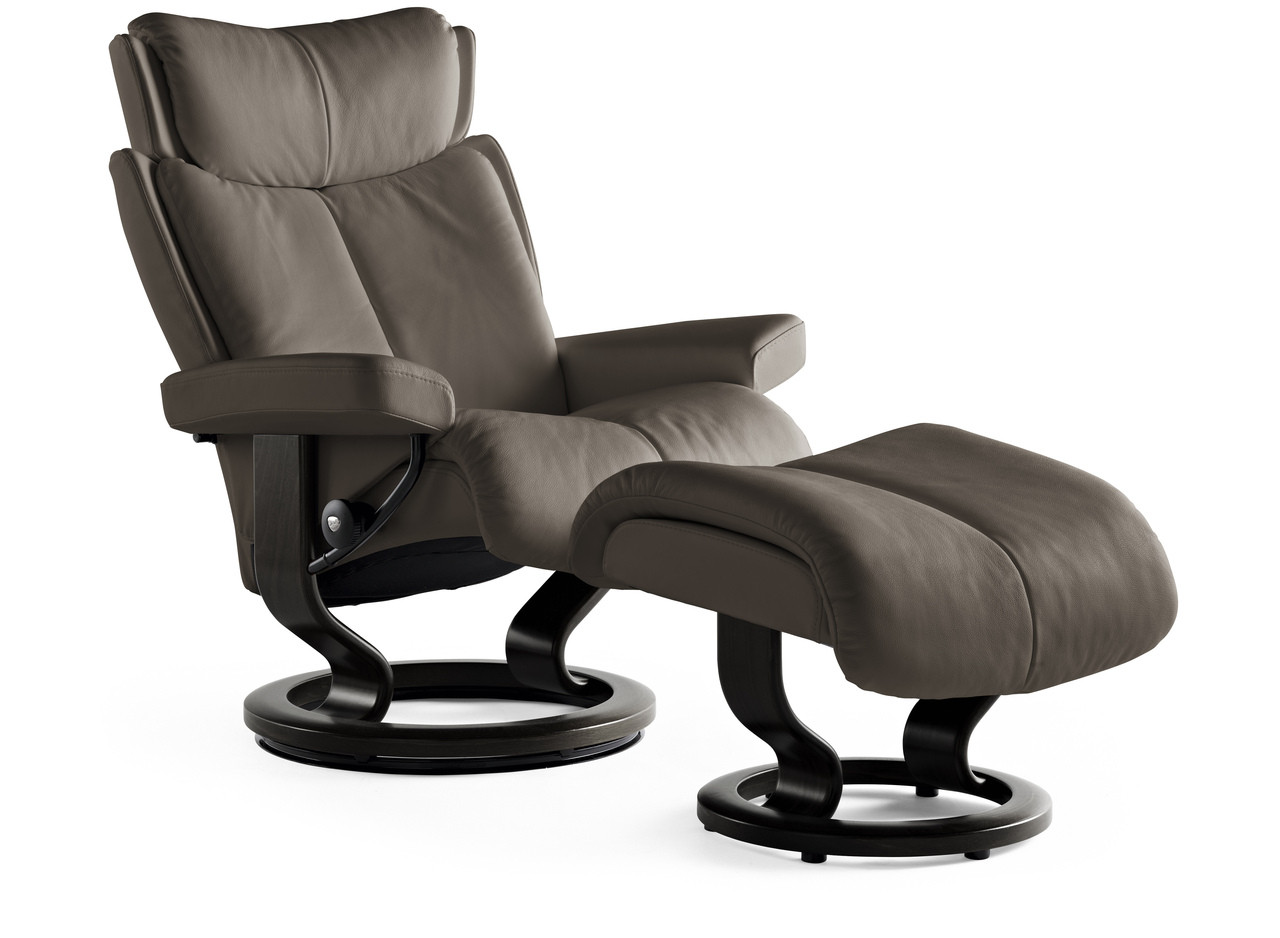 Ekornes Stressless Magic Recliner with Ottoman image