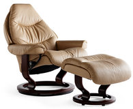Ekornes Voyager recliner insures a lifetime of comfort and support