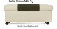 Ekornes Double Ottoman Table- Fits perfectly on your Stressless Double Ottoman.