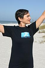 Black T-Shirt Workout Moving FreeWear™
