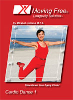 Mirabai Holland  Cardio Dance Level 1 DVD