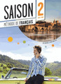 Saison niveau 2 Methode de Francais avec cd audio + DVD - A2/B1