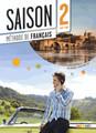 Saison niveau 2 Methode de Francais avec cd audio + DVD - A2/B1