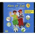 Alex et Zoe 1. CD audio individuel Nouvelle edition (Chansons et comptines)