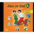 Alex et Zoe 2. CD audio individuel Nouvelle edition (Chansons et comptines)