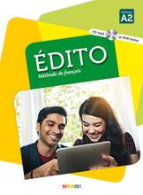 Edito A2 Methode de Francais 9782278083190 | europeanbook.com