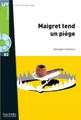 Maigret tend un piege (with CD audio MP3) -  Simenon - Easy reader B2