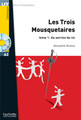 Les trois mousquetaires tome 1 - au service du roi - (with CD audio MP3) - Rostand - Easy reader A2