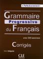 Grammaire progressive du francais - Perfectionnement - CORRIGES