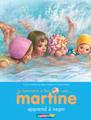 Je commence a lire avec...Martine apprend a nager